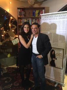 Barbara Serrano y Osvaldo Rios