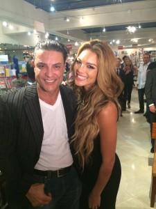 Osvaldo Rios con Zuleyka Rivera
