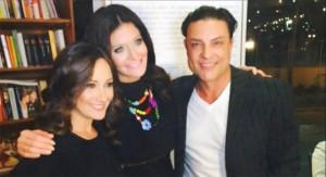 Osvaldo Rios, Barbara Serrano y Karla Monroig Fotografía TVyNovelas.com
