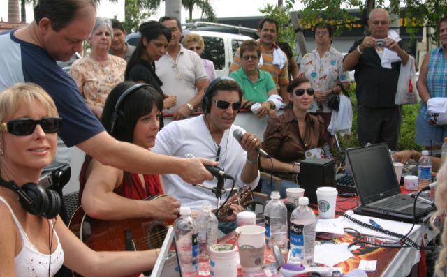 Ayuda para Perú a traves del programa de radio Zona Cero de Miami, 24-8-07